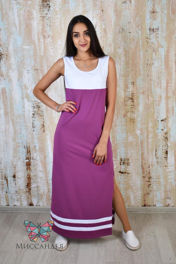 Платье П 50 (лиловый) купить по цене 617 руб. в интернет-магазине Миссандея