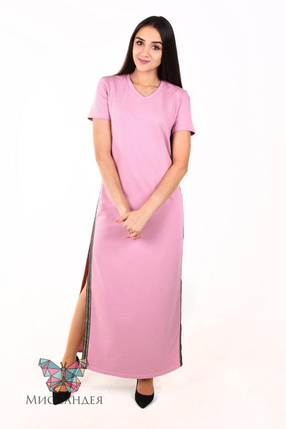 Платье П 46 (розовый) купить по цене 644 руб. в интернет-магазине Миссандея